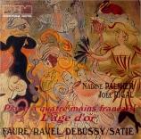 Piano à quatre mains français L'âge d'or