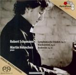 SCHUMANN - Helmchen - Waldszenen (Scènes de la forêt), pour piano op.82