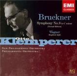 BRUCKNER - Klemperer - Symphonie n°8 en ut mineur WAB 108 HiQuality CD - Import Japon