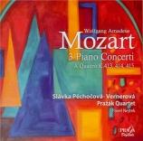 MOZART - Pechocova - Concerto pour piano et orchestre n°11 en fa majeur