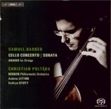 BARBER - Poltéra - Concerto pour violoncelle op.22