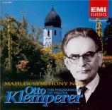 MAHLER - Klemperer - Symphonie n°4 remastered by Yoshio Okazaki, import Japon
