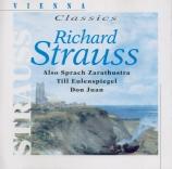 STRAUSS - Leitner - Also sprach Zarathustra, poème symphonique pour gran