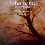 SCHUMANN - Schreier - Zwölf Gedichte von Justinus Kerner, cycle de douze