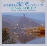MOZART - Kertesz - Symphonie n°39 en mi bémol majeur K.543 Import Japon