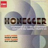 HONEGGER - Jansons - Pacific 231, mouvement symphonique n°1 H.53