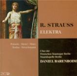 STRAUSS - Barenboim - Elektra, opéra op.58
