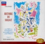 STRAVINSKY - Markevitch - L'histoire du soldat, pour trois récitants et Import Japon
