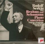 BRAHMS - Serkin - Concerto pour piano et orchestre n°1 en ré mineur op.1 Import Japon