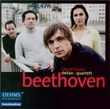 BEETHOVEN - Delian Quartett - Quatuor à cordes n°1 op.18-1