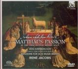 BACH - Jacobs - Passion selon St Matthieu(Matthäus-Passion), pour solis + 1 DVD