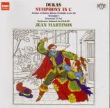 DUKAS - Martinon - Symphonie en ut majeur (Import Japon) Import Japon
