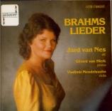 BRAHMS - Van Nes - Zwei Gesänge, deux mélodies pour une voix et piano et