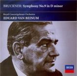 BRUCKNER - Van Beinum - Symphonie n°9 en ré mineur WAB 109 Import Japon