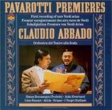 Pavarotti Premieres of Rare Verdi Arias
