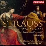 STRAUSS - Järvi - Josephs Legende (La légende de Joseph), musique de bal