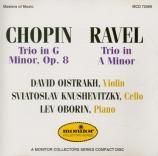CHOPIN - Oborin - Trio pour violon, violoncelle et piano en sol mineur o