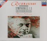 RACHMANINOV - Ashkenazy - Symphonie n°1 en ré mineur op.13