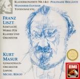 Sämtlmiche Werke für Klavier und Orchester