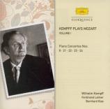 Kempff plays Mozart vol.1