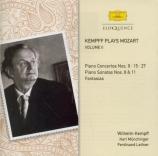 Kempff plays Mozart vol.2