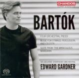 BARTOK - Gardner - Le mandarin merveilleux, suite pour orchestre op.19