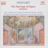 MOZART - Morandi - Noces de Figaro (Les) K.492 : extraits