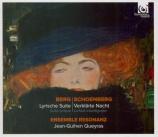 BERG - Resonanz - Suite lyrique : version pour orchestre versions orchestre à cordes