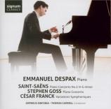 SAINT-SAËNS - Despax - Concerto pour piano n°2 op.22