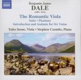 DALE - Inoue - Suite pour alto et piano op.2