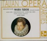 PACINI - Parry - Maria Tudor