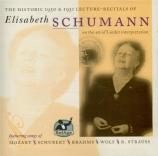 MOZART - Schumann - Das Veilchen, lied pour voix et piano K.476