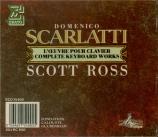 SCARLATTI - Ross - Sonates pour clavier (Intégrale) (première édition) première édition