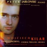 KILAR - Jablonski - Concerto pour piano