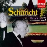 BRUCKNER - Schuricht - Symphonie n°3 en ré mineur WAB 103 remastered by Yoshio Okazaki, mport Japon