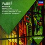 FAURE - Marriner - Requiem pour voix, orgue et orchestre en ré mineur op