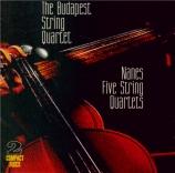 NANES - New Budapest St - Quatuor à cordes n°1