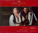 VERDI - Ozawa - Ernani, opéra en quatre actes