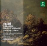 FAURE - Jordan - Pelléas et Mélisande op.80 : suite pour orchestre