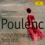 POULENC - Järvi - Stabat Mater, pour soprano, chœur mixte à cinq voix et