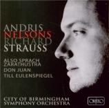 STRAUSS - Nelsons - Also sprach Zarathustra, poème symphonique pour gran