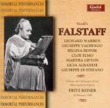 VERDI - Reiner - Falstaff, opéra en trois actes