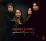 DOHNANYI - Psophos quartet - Quatuor à cordes n°1 op.7