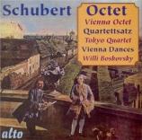 SCHUBERT - Wiener Oktett - Octuor en fa majeur pour cordes et vents op.p