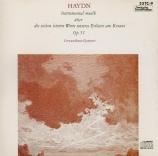 HAYDN - Gewandhaus Quar - Les sept dernières paroles du Christ sur la cr Import Japon