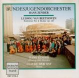 BEETHOVEN - Zender - Symphonie n°4 op.60