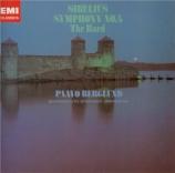SIBELIUS - Berglund - Symphonie n°4 op.63 (Import Japon) Import Japon