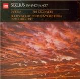 SIBELIUS - Berglund - Symphonie n°7 op.105 (Import Japon) Import Japon