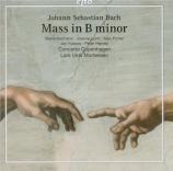BACH - Mortensen - Messe en si mineur, pour solistes, chœur et orchestre