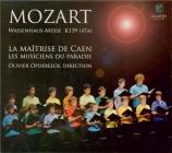 MOZART - Opdebeeck - Missa solemnis en do mineur, pour solistes, choeur e